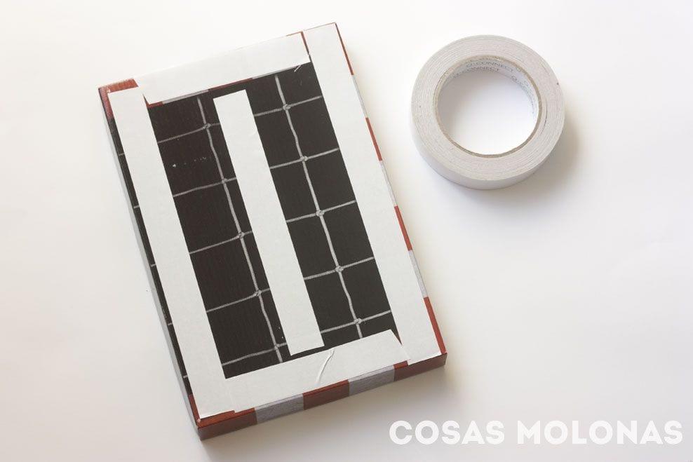 DIY / Bastidor de Lazos Montessori