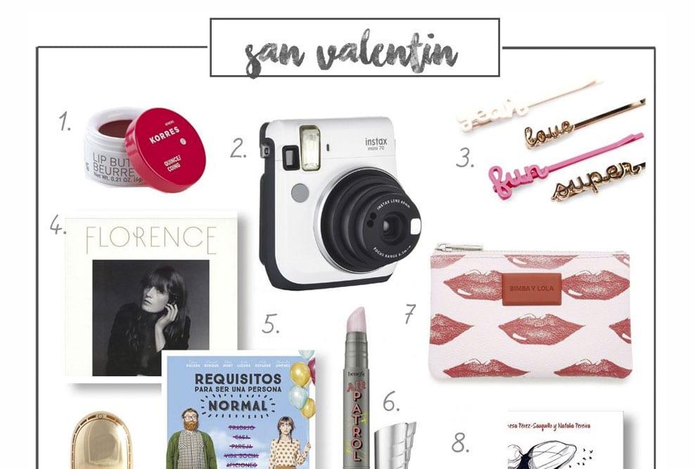 Guía de regalo: San Valentín