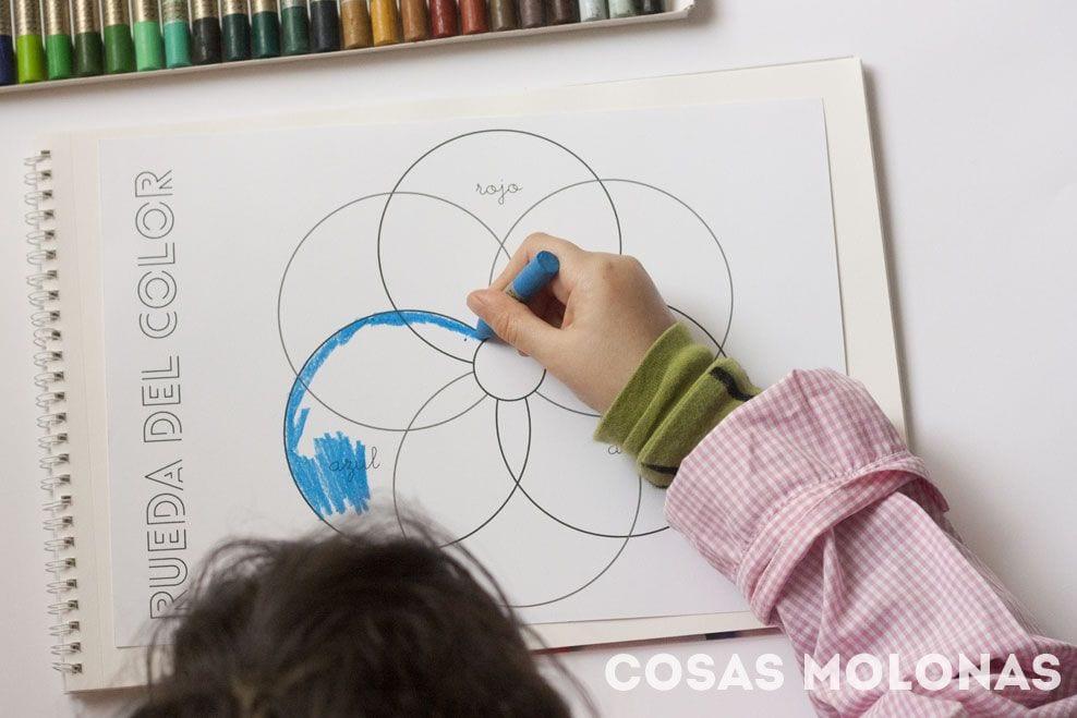 Cómo hacer una rueda del color | Cosas Molonas | DIY Blog
