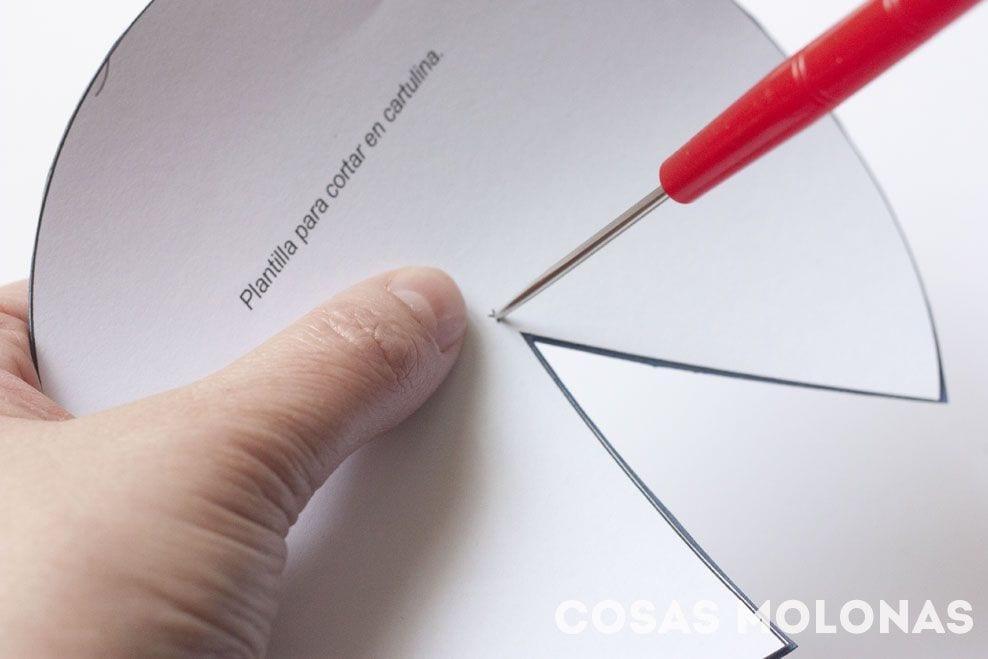 Como perforar la plantilla