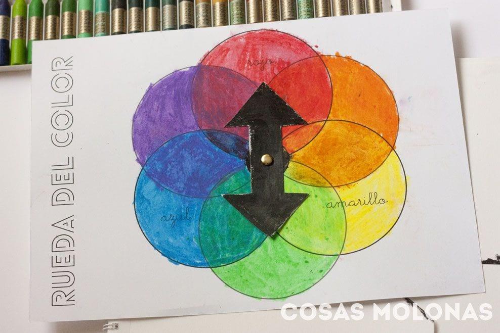 C mo hacer una rueda del color cosas molonas diy blog - Rueda de colores ...