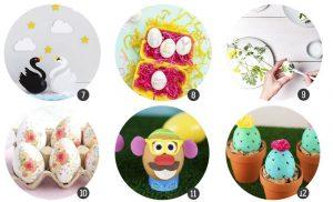 decorando-huevos-pascua