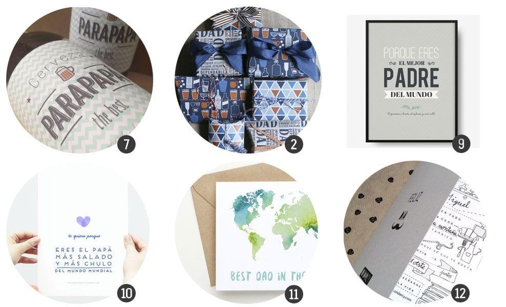18 imprimibles para el Día del padre