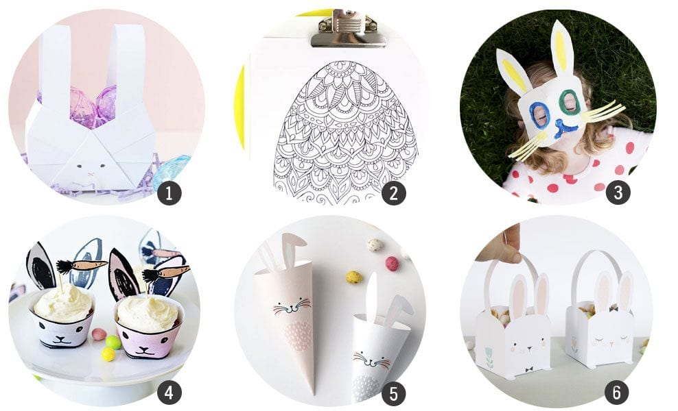 18 imprimibles gratis inspirados en Pascua