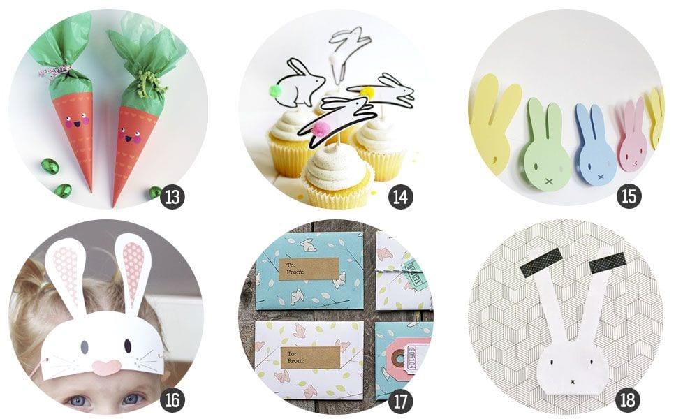 18 imprimibles gratis inspirados en Pascua | Cosas Molonas | DIY Blog