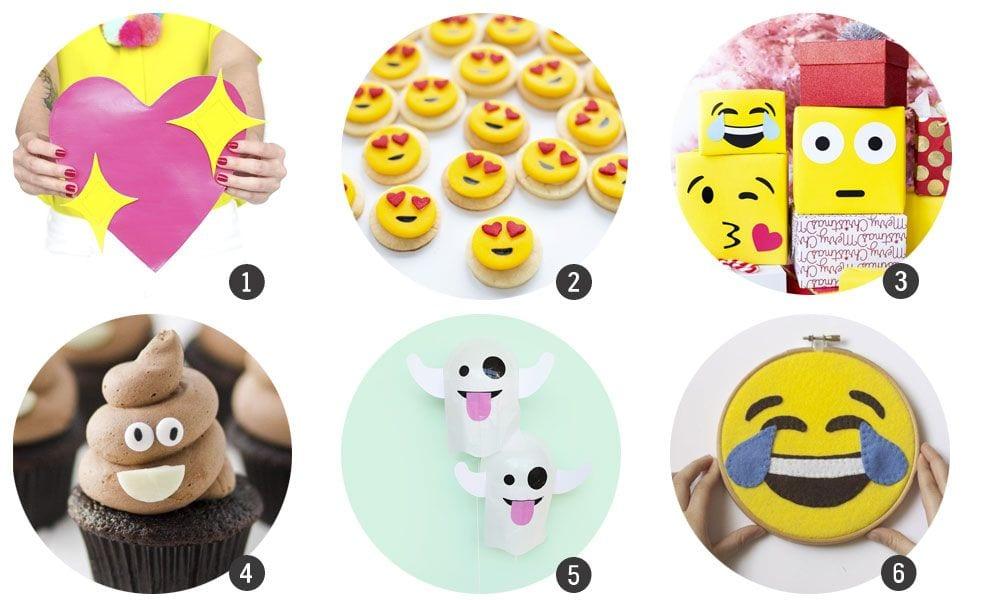 18 DIYs de Emojis