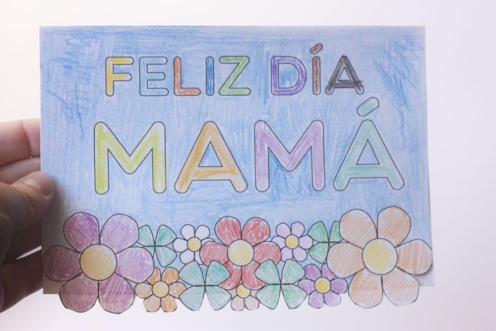 Tarjeta Para El Día De La Madre