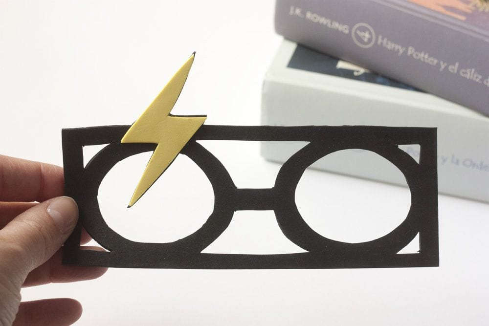 "DIY / Punto de libro ""Harry Potter"""