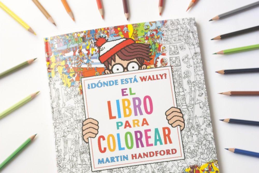 Libro para colorear ¿Dónde está Wally? | Cosas Molonas | DIY Blog