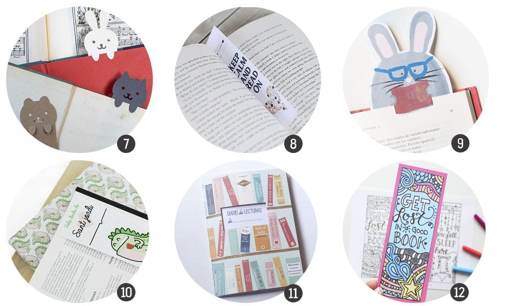 12 imprimibles inspirados en el Día del Libro