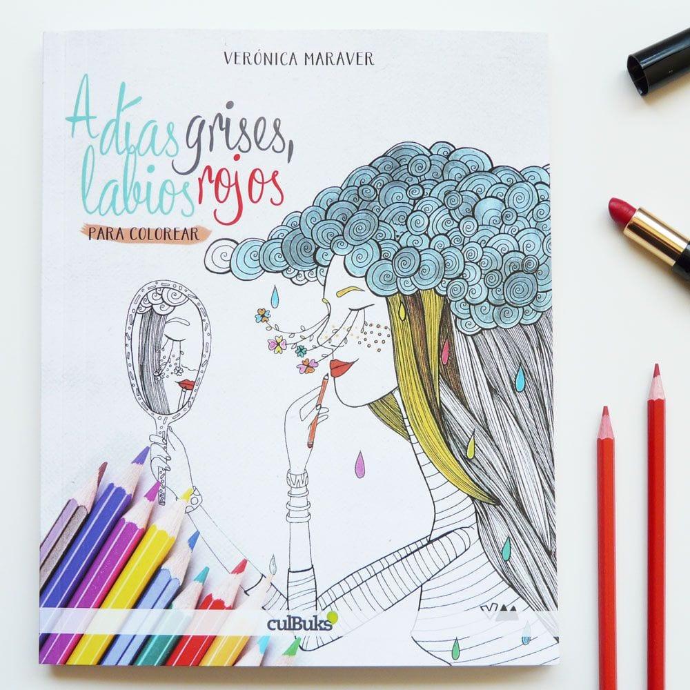 Imprimible: Lámina para colorear de Verónica Maraver