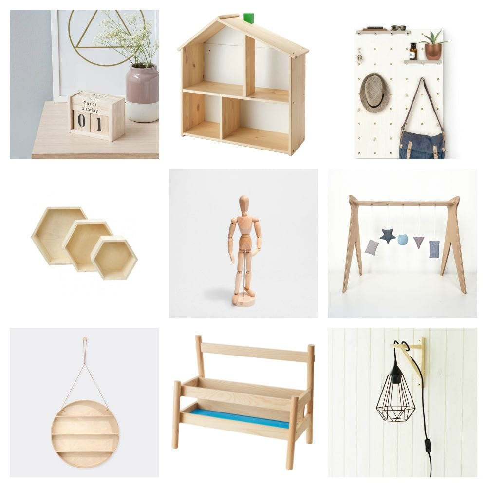 Tendencias: Madera natural @cosasmolonas