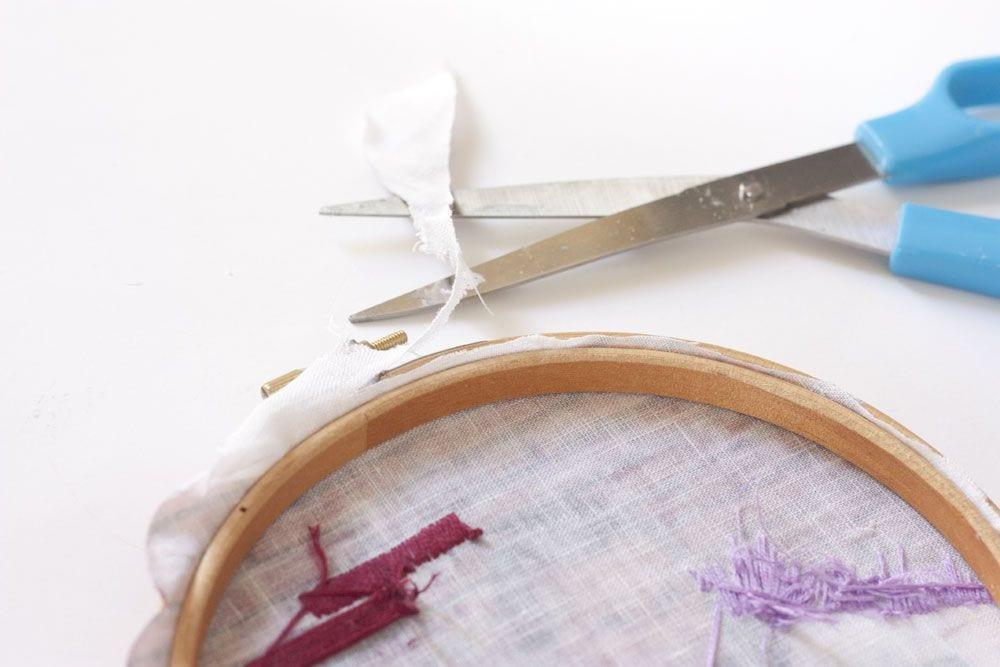 DIY / Bastidor bordado a partir de una fotografía