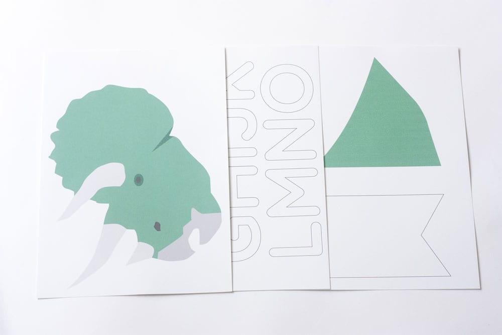 guirnalda-imprimible-dinosaurios