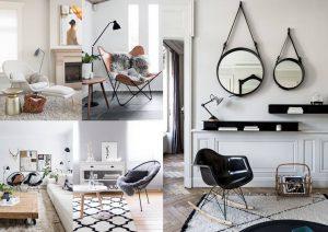 decoración con sillas salones