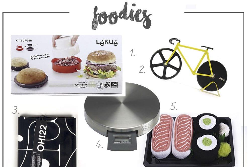Guía de regalo /  Foodies