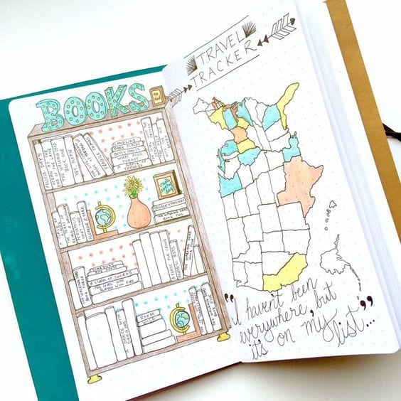 "A Guide To Identifying Your Home Décor Style: Bullet Journal / 50 Ideas Para Tus ""colecciones"""