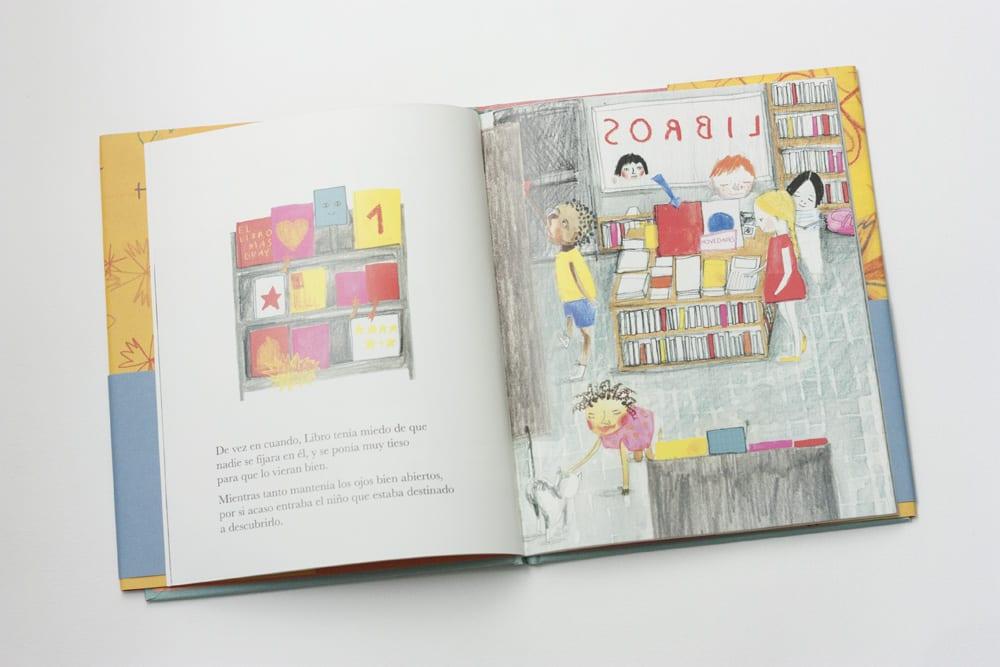 Mi amigo libro de Kirsten Hall en www.cosasmolonas.com