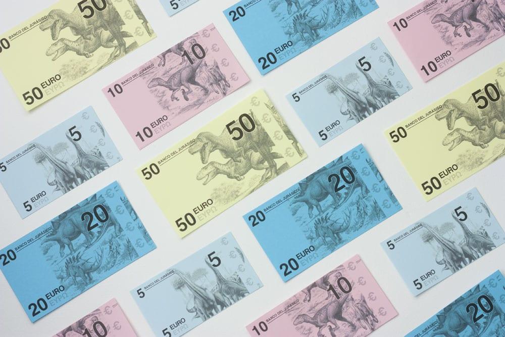 billetes y monedas para imprimir
