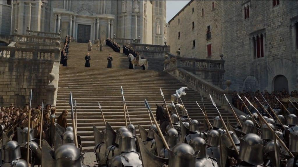Viajar/ La Girona de Juego de Tronos. Fotograma propiedad de HBO.