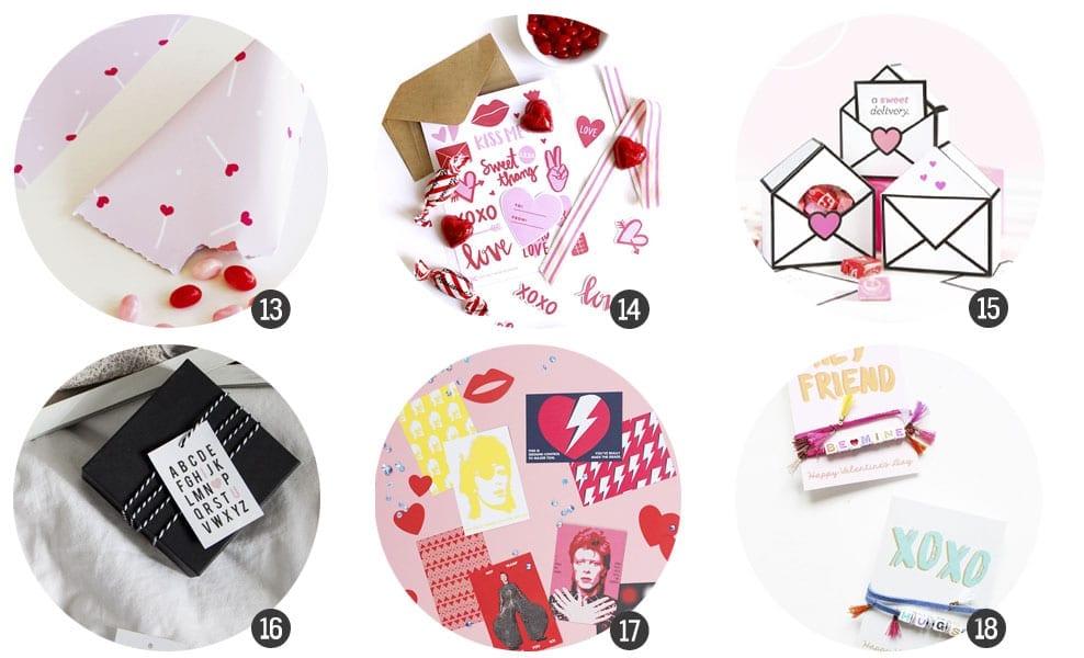Imprimibles / San Valentín