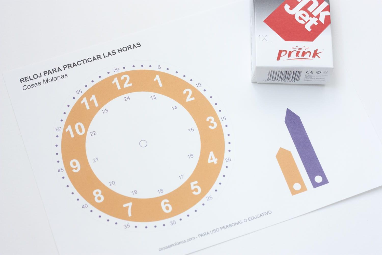 Reloj Para Imprimir Gratis Cosas Molonas Diy Blog
