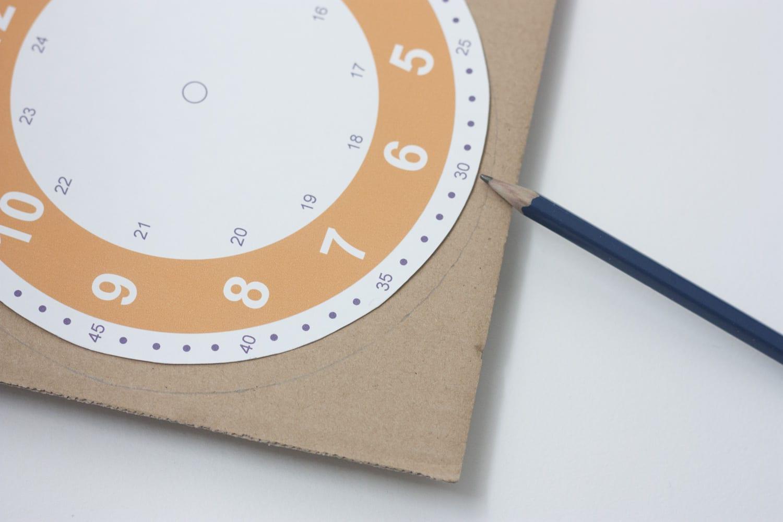 Imprimible / Reloj para aprender y practicar las horas