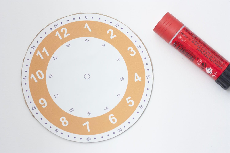 Imprimible / Reloj para aprender y practicar las horas | Cosas ...