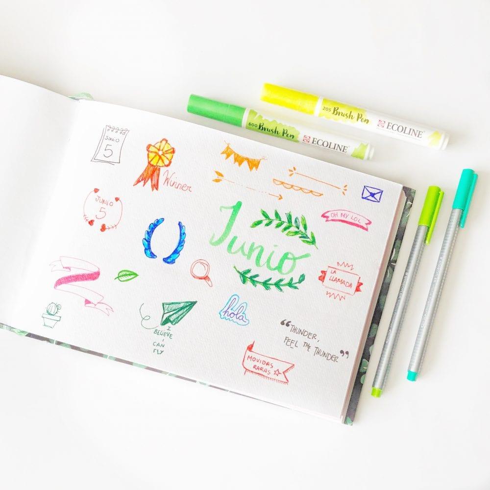 bullet journal    imprimibles y recursos