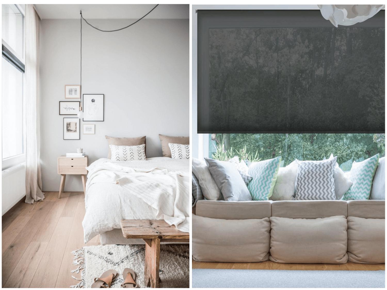¿Estores o cortinas? Cuál es la mejor opción