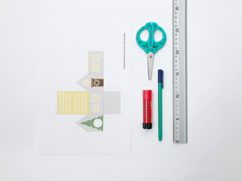 Calendario de adviento para imprimir