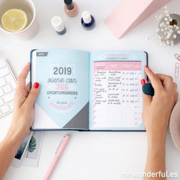 Nuestro TOP de Agendas 2019 ¡Organízate a tope este año!