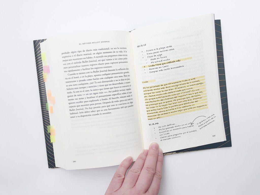 Libro Bullet Journal Ryder Carroll