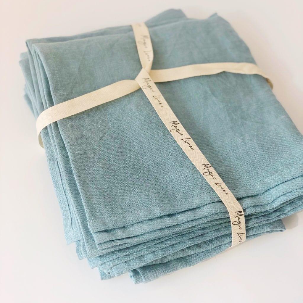 servilleta de lino ecológico