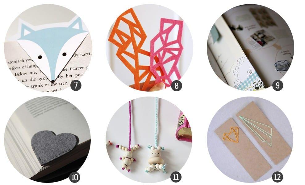 Día del Libro: 12 marcapáginas listos para imprimir