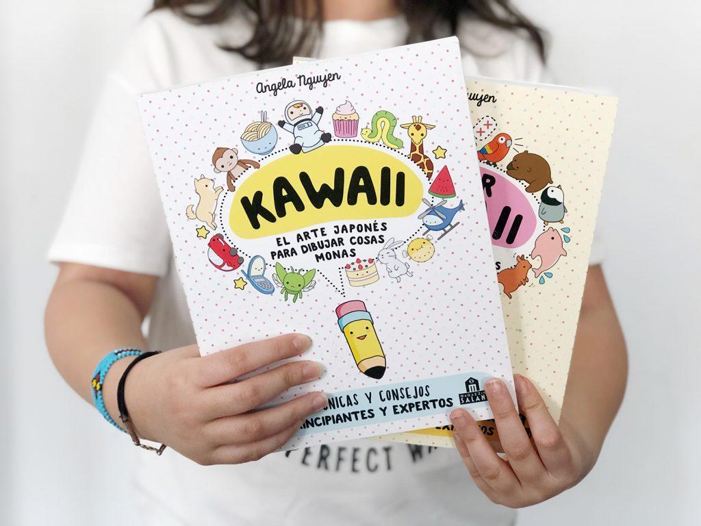 Libros para aprender a dibujar para niños: colección kawaii de Angela Ngujen