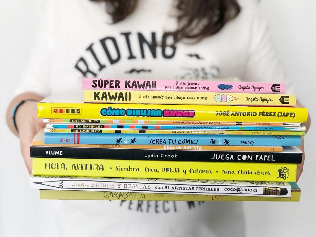 ¿Buscas libros para aprender a dibujar para niños? En este artículo encontrarás una selección de mis favoritos para todas las edades.