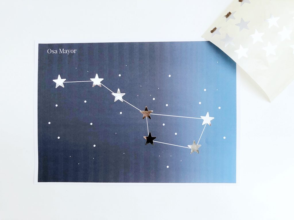 constelaciones para niños y niñas de primaria