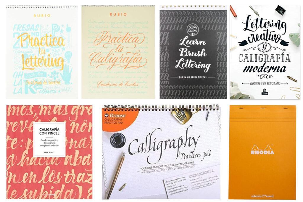 Cuadernos para practicar lettering